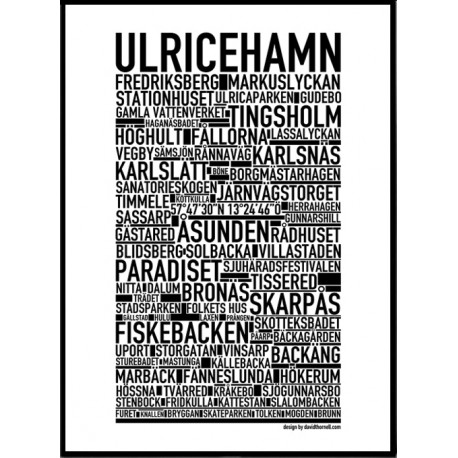 Ulricehamn Poster