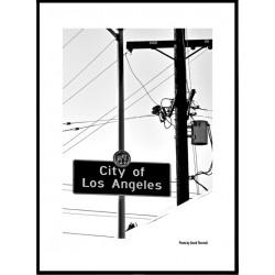 City Of LA Poster