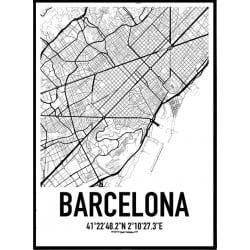 Barcelona Karta