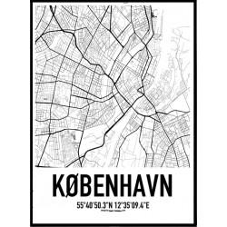 Köpenhamn Karta