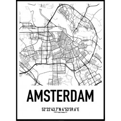 Amsterdam Karta