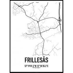 Frillesås Karta