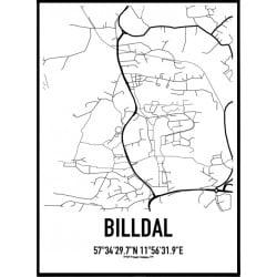 Billdal Karta Poster