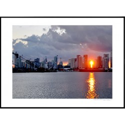 Miami Sunset Poster