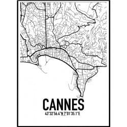 Cannes Karta Poster