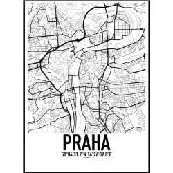 Prag Karta Poster