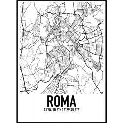 Roma Karta Poster