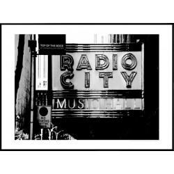 Radio City Poster