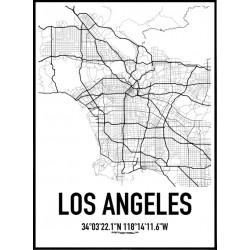 Los Angeles Karta