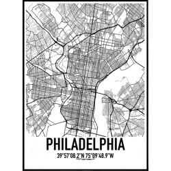 Philadelphia Karta