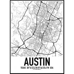 Austin Karta Poster
