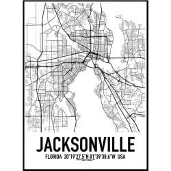 Jacksonville Karta