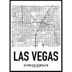 Las Vegas Karta