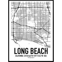 Long Beach Karta