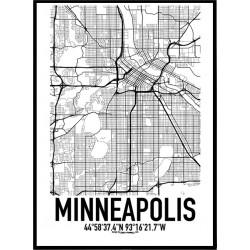 Minneapolis Karta
