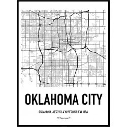 Oklahoma City Karta