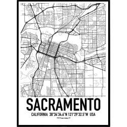 Sacramento Karta