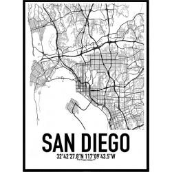 San Diego Karta