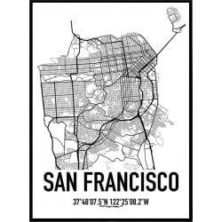 San Francisco Karta