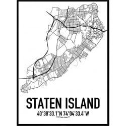 Staten Island Karta