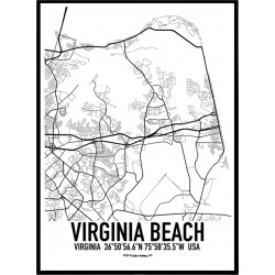 Virginia Beach Karta