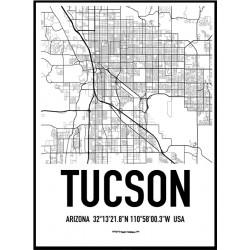 Tuscon Karta