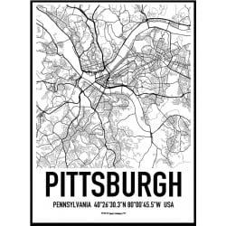 Pittsburgh Karta