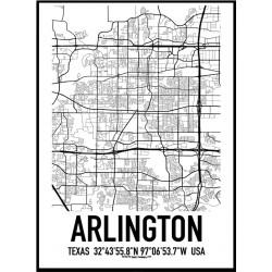 Arlington Karta