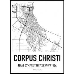 Corpus Christi Karta