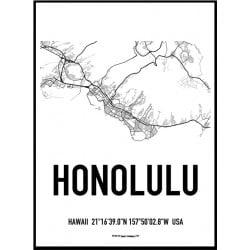 Honolulu Karta