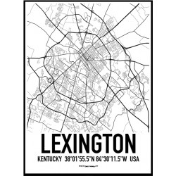 Lexington Karta