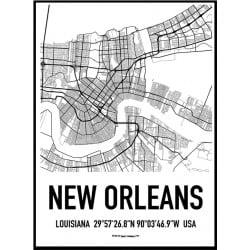New Orleans Karta