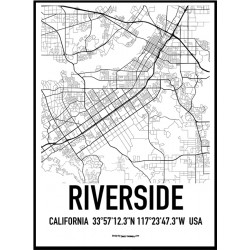 Riverside Karta