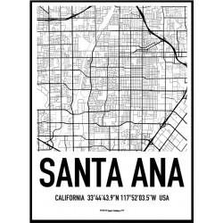 Santa Ana Karta