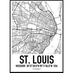 St. Louis Karta