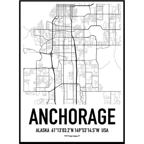 Anchorage Karta