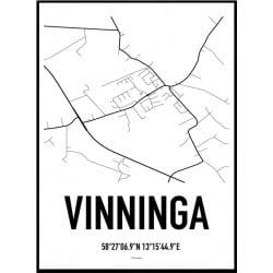 Vinninga Karta Poster