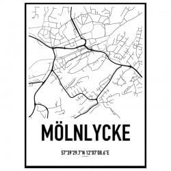 Mölnlycke Karta Poster