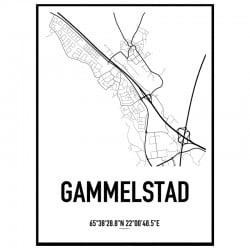 Gammelstad Karta