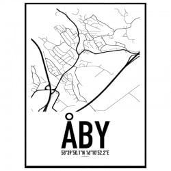 Åby Karta Poster