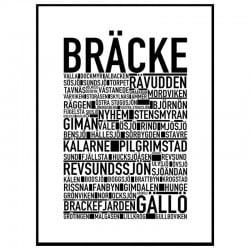 Bräcke Poster
