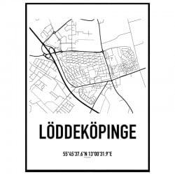 Löddeköpinge Karta