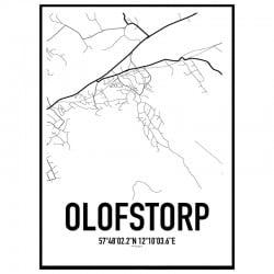 Olofstorp Karta Poster