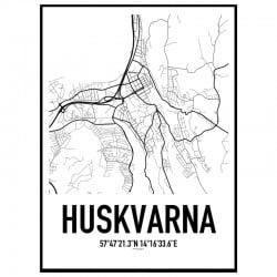 Huskvarna Karta