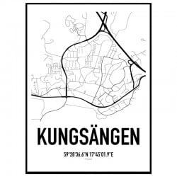 Kungsängen Karta