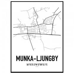 Munka-Ljungby Karta