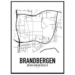 Brandbergen Karta