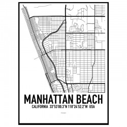 Manhattan Beach Karta