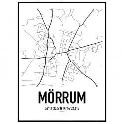 Mörrum Karta Poster
