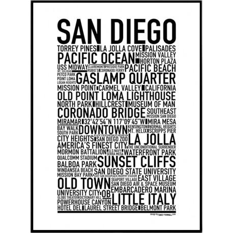San Diego Poster